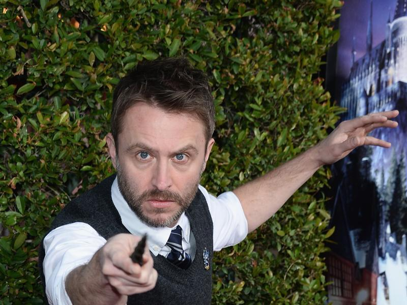 Tv personality Chris Hardwick attends Universal Studios' Wizarding World of Harry Potter Opening at Universal Studios Hollywood on April 5, 2016 in Universal City, California. (AFP)