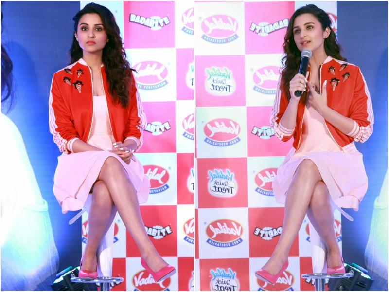 Stop it Parineeti, you are only making it more difficult for people to breathe.  (Agencies)