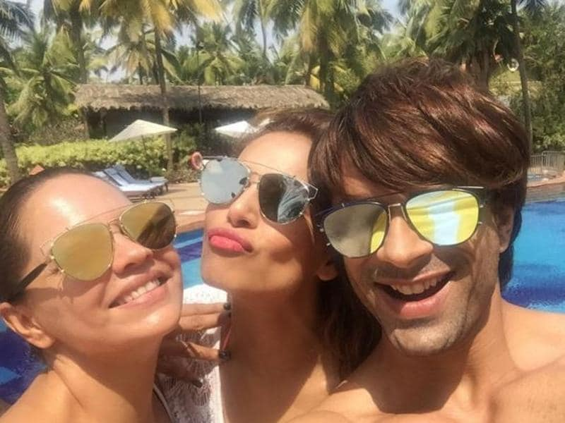 Bipasha regularly puts out pictures of her having a good time with her friends and Karan. Just look at all these pictures. (Instagram)