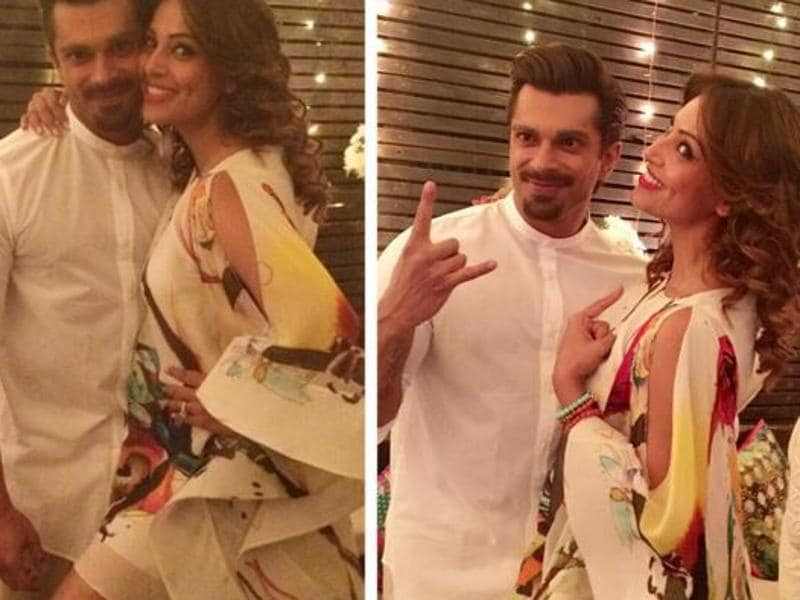 In 2015, Bipasha Basu and Karan Singh Grover met on the sets of their film, Alone.  (Instagram)