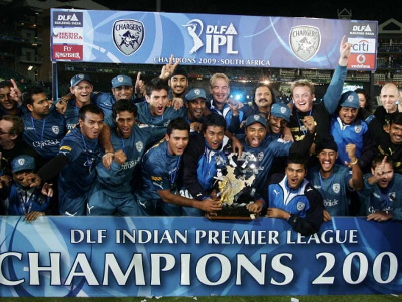Led by Adam Gilchrist, the Deccan Chargers bounced back from a terrible first season to win the second edition of the IPL, in 2009. (Santosh Harhare/HT Photo)