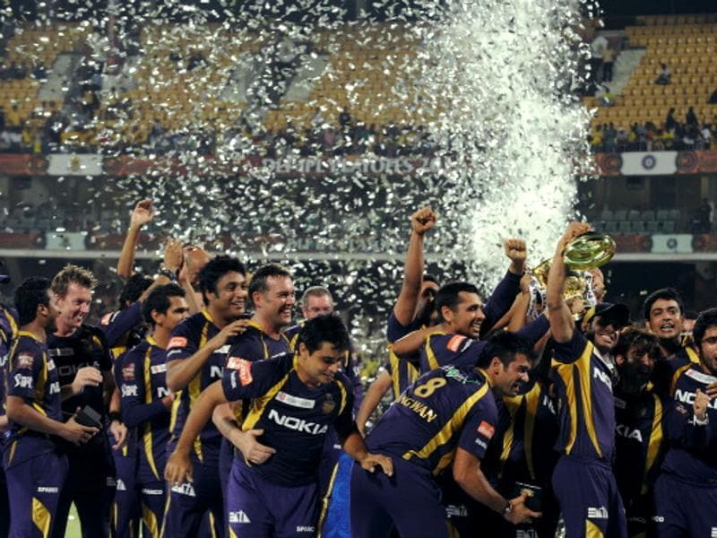 The Kolkata Knight Riders, led by Gautam Gambhir, won the first of their two titles in 2012. (Getty Images)