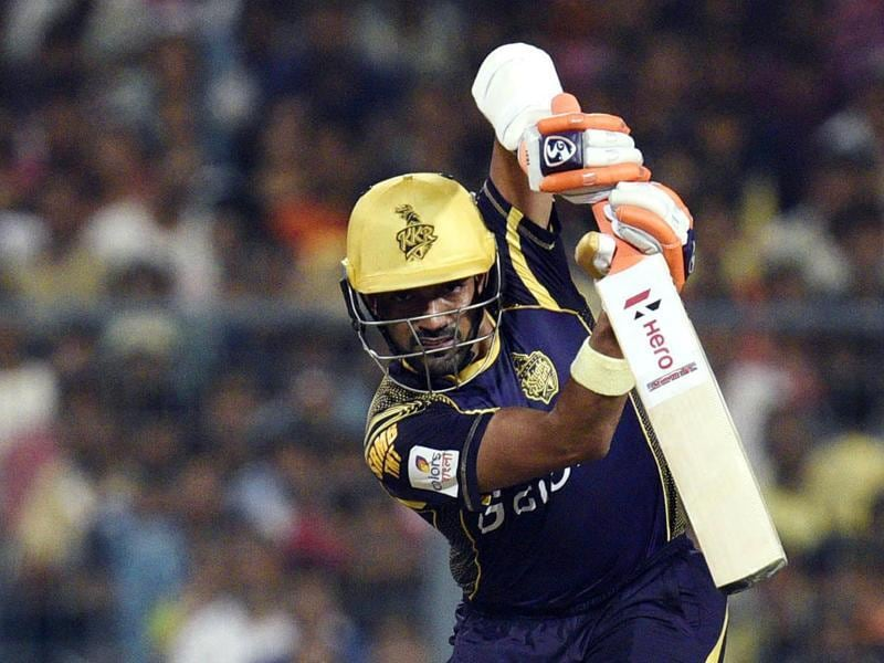 Robin Uthappa of Kolkata Knight Riders in action in Indian Premier League (IPL). (Ashok Nath Dey/HT photo)