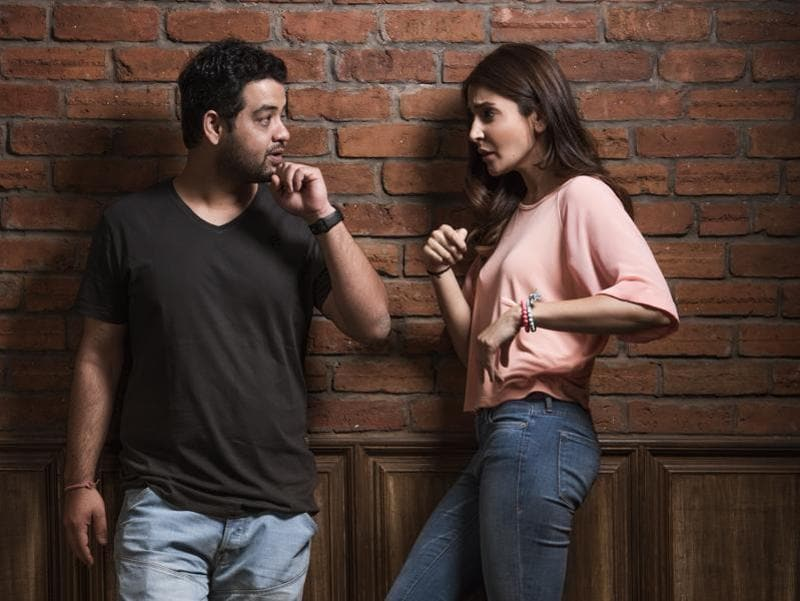 Anushka Sharma and her brother trust each other blindly.  (Aalok Soni/Hindustan Times)