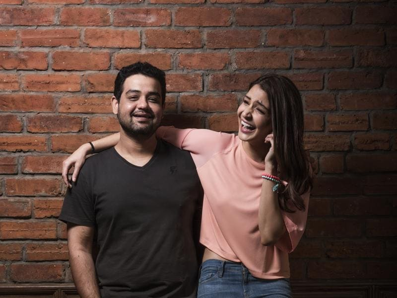 "Anushka Sharma and KarneshSharma want to create ""different and new content"" with their production company. (Aalok Soni/Hindustan Times)"