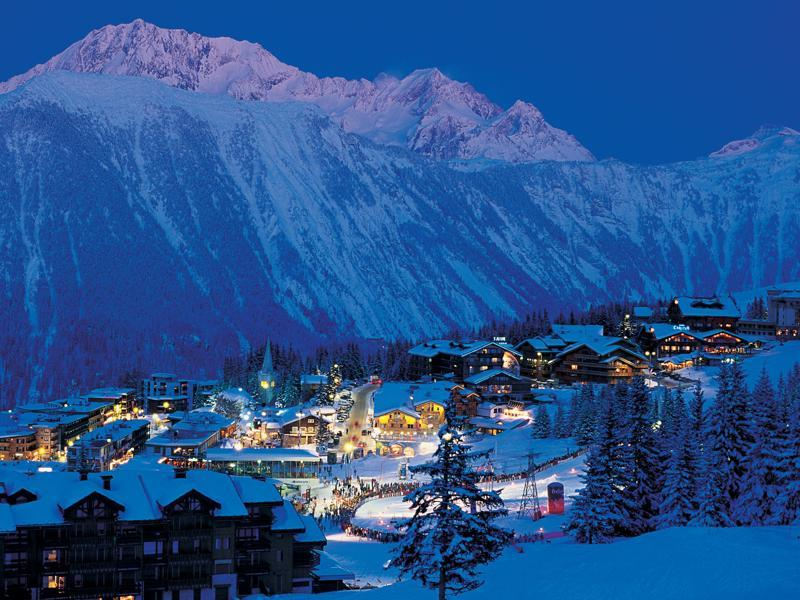 Courchevel 1850, the largest of the four, is the glitziest of the French Alpine resorts offering exclusive hotels, stylish chalets and apartments, Michelin-starred restaurants and a buzzing nightlife.  (courchevel.com)