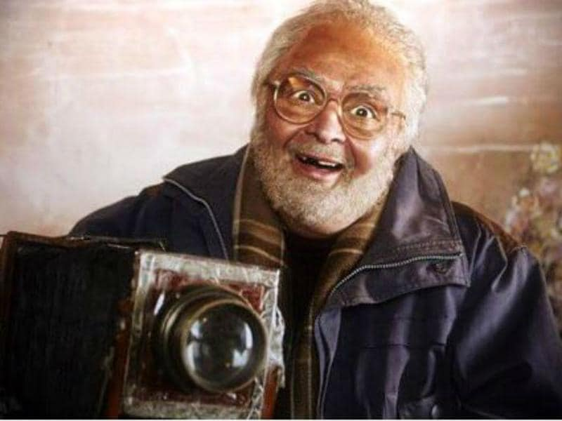 Rishi Kapoor recently donned this look for a cameo in Sanam Re.