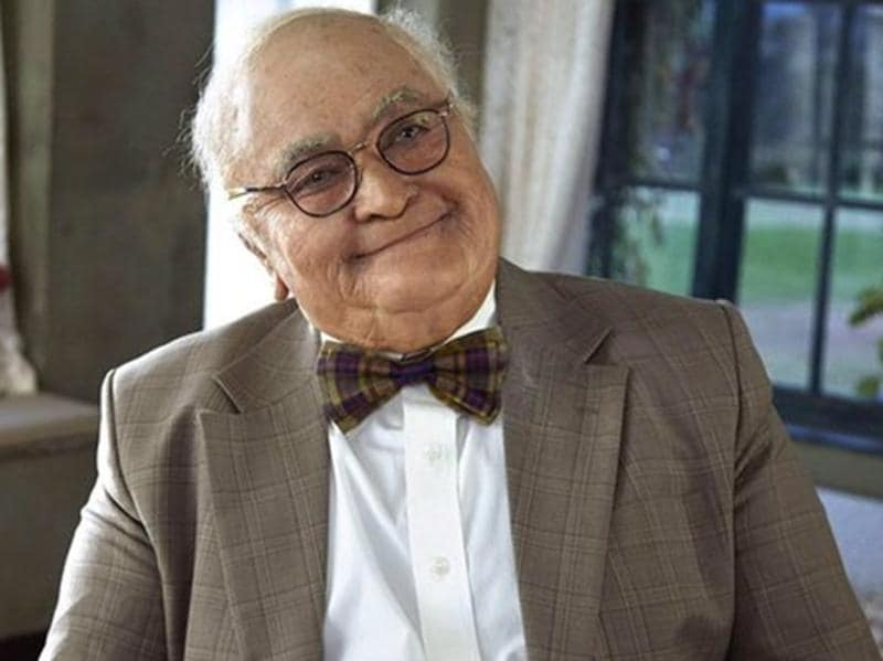 Another of Rishi Kapoor's prosthetic marvels, this is his look in Kapoor & Sons.