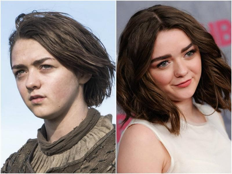 You may not believe it but Maisie Williams, who plays the fierce Arya Stark, turned 18 last year. Doesn't look like it, right? She has a very tom-boyish sense of fashion in real life as well. Though she doesn't mind decking up from time to time.  (HBO/AP)