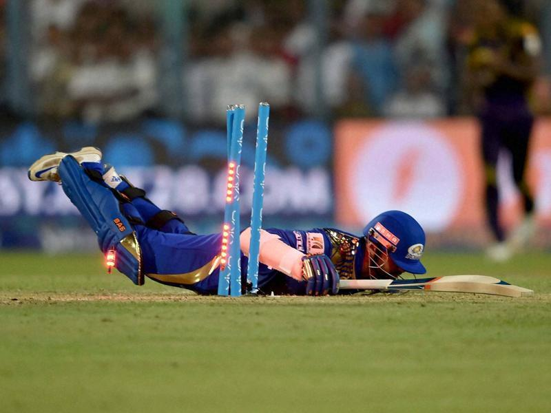 Parthiv Patel gets run out. (PTI)