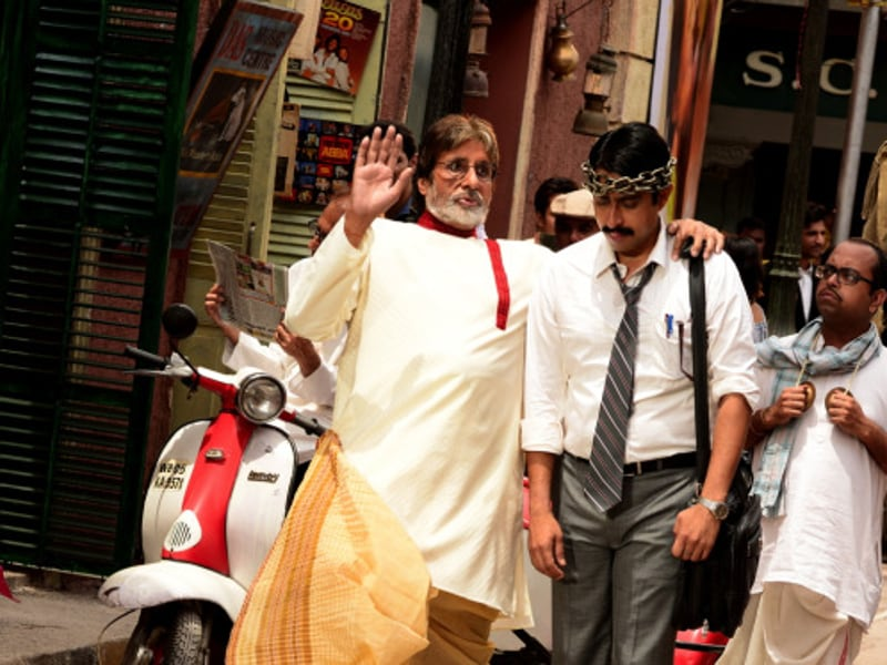 Bachchan said the 'bong' look was deliberate, because the script demanded so ..  (Big B's blog)