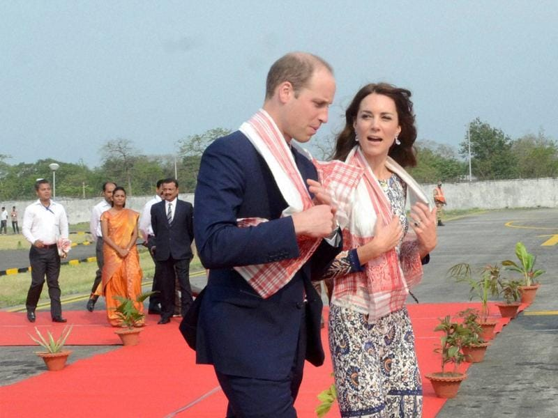 Here's how she left for Bhutan from Assam. Looks comfy. (PTI)