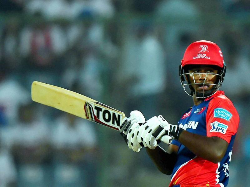 Sanju Samson ably assisted De Kock in the chase, hitting 33 off 32. (PTI)