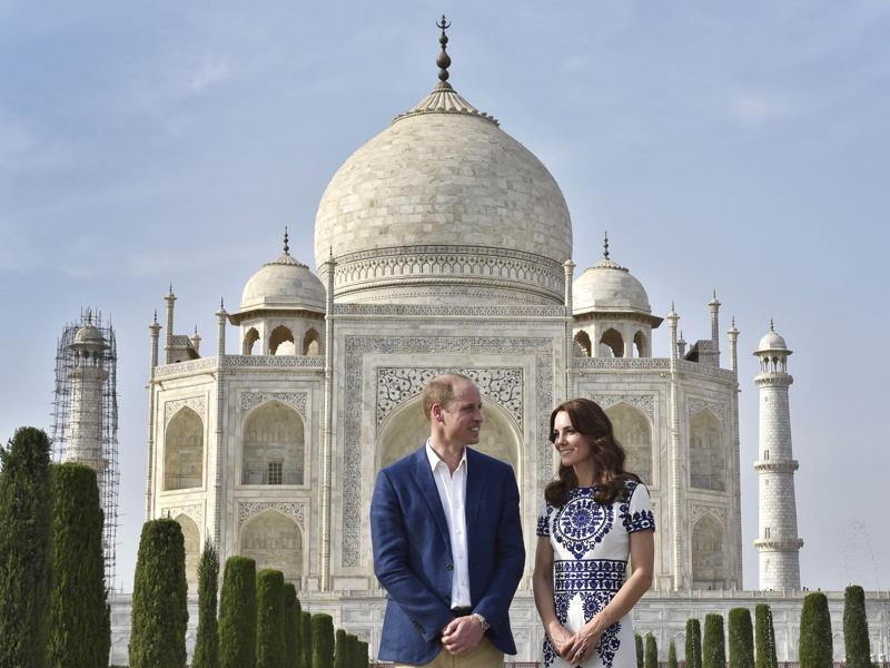 William and Kate are on a week-long tour to India from April 10, their first official visit to the country. (Photo: Ajay Aggarwal/ Hindustan Times)
