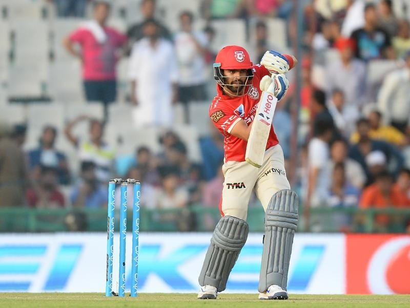 Manan Vohra's 33-ball 51 helped Kings XI post an opening stand of 97. (AFP)
