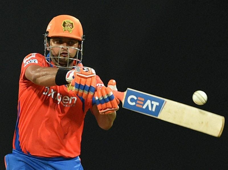 Suresh Raina assisted Finch with 27 off 22 balls. (PTI)