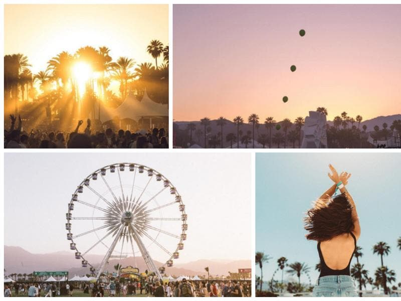 The Coachella Valley Music and Arts Festival is an annual music and arts festival held at the Empire Polo Club in Indio, California, located in the Inland Empire's Coachella Valley in the Colorado Desert. (Instagram)