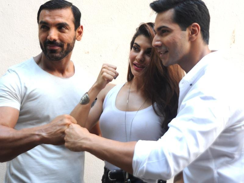 John Abraham hasn't used body double for his stunts in Dishoom. (AFP)