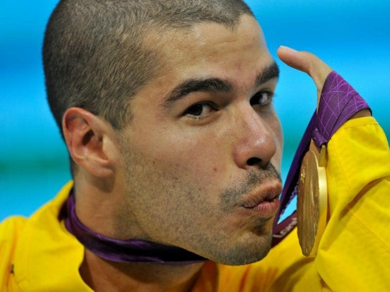 Brazilian paralympic swimmer Daniel Dias won the Sportsperson of the Year with a Disability award. (AFP file photo)