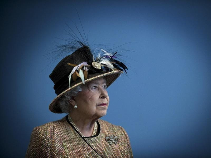 Queen Elizabeth II assumed the throne after King George VI died in February 1952. (REUTERS)