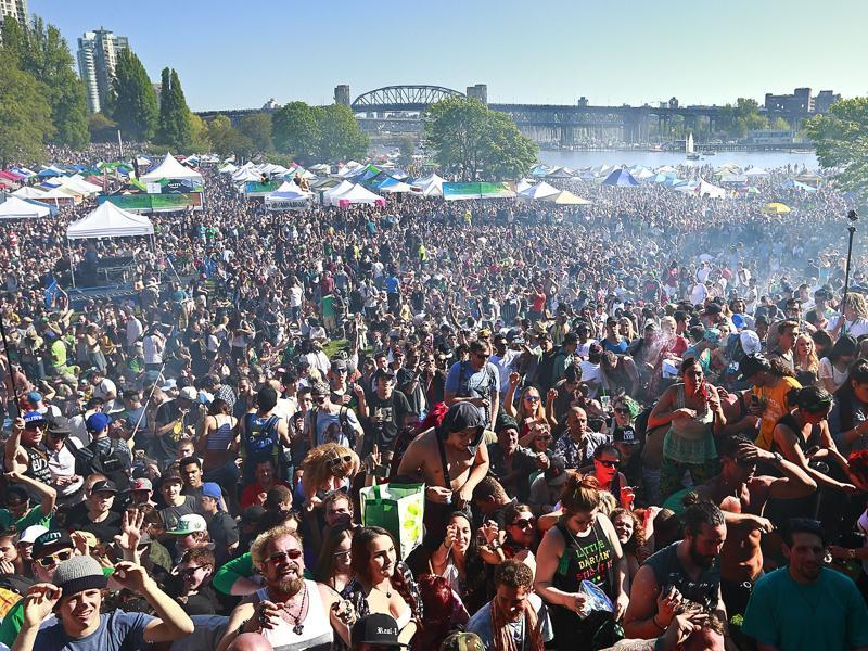 420, or National Weed Day, is usually marked by marijuana enthusiasts across the globe by large public gatherings and the consumption of weed. (AFP Photo)