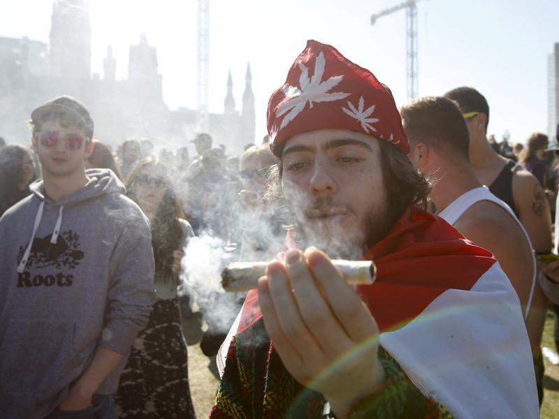 Marijuana magazine High Times says the concept of 4/20 originated in the early 1970s, as a group of teenagers in the US city of San Rafael used it as a code to gather after school and smoke the drug. (REUTERS)