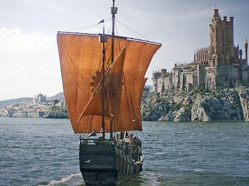 A distant look of King's Landing. (HBO)