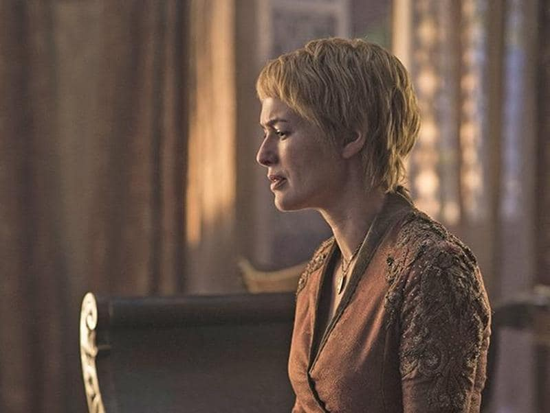 Cersei Lannister (Lena Headey) perhaps mourning her daughter's death. (HBO)