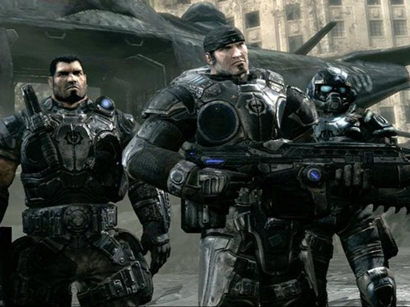 Gears of War from Microsft Studios has been one of the decisive games that made gamers sway in favour of Xbox instead of PlayStation.  (Gears of War)