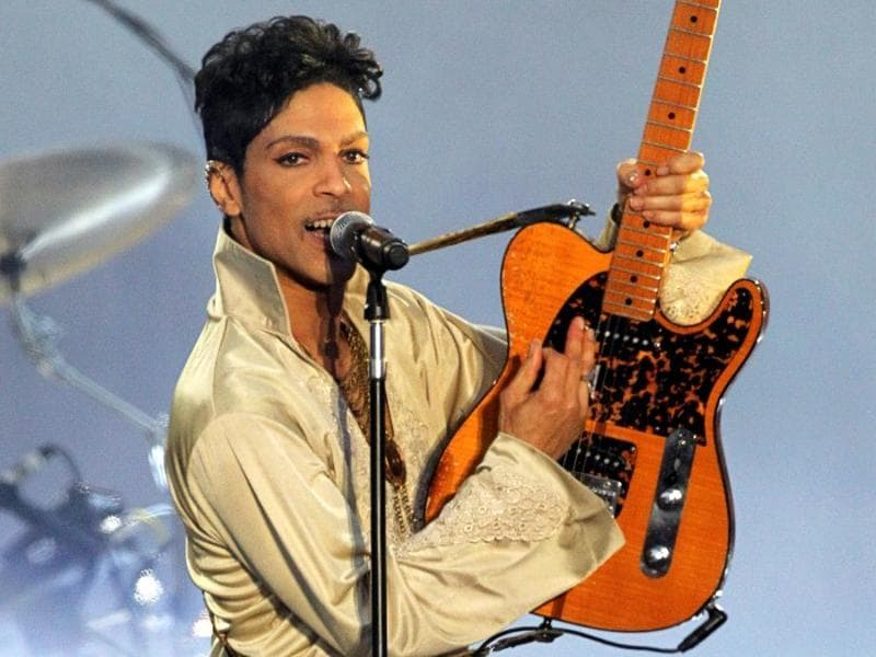 Prince at the Hop Farm Festival near Paddock Wood, southern England July 3, 2011.