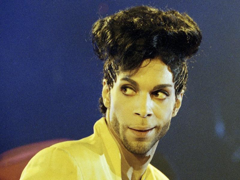 Prince during his Diamonds and Pearls Tour in London, Britain, June 15, 1992.  (REUTERS)
