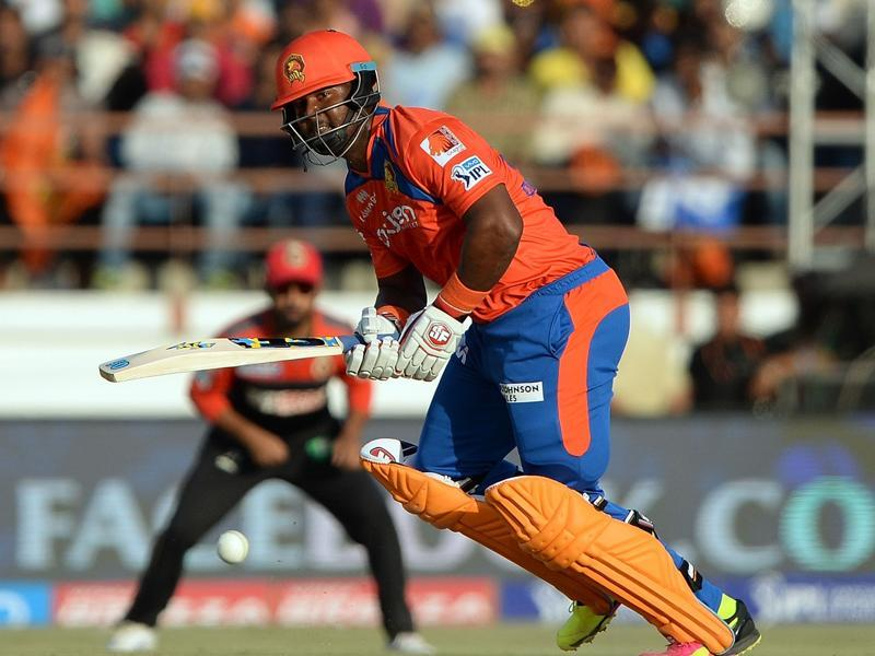 Gujarat Lions batsman Dwayne Smith plays a shot during the 2016 Indian Premier League (IPL). (AFP Photo)