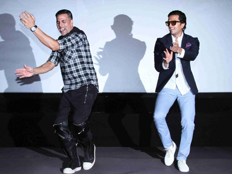 Housefull 3 claims to be three time more fun. If the film's trailer launch and Akshay Kumar's antics are any indication, it will be one madcap ride. (IANS)