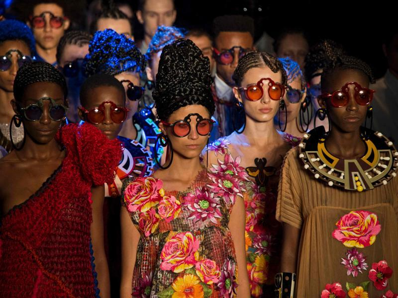 Sao Paulo Fashion Week, widely regarded as Latin America's pre-eminent fashion event, kick-started in Sao Paulo, Brazil, on Monday.  (AFP)