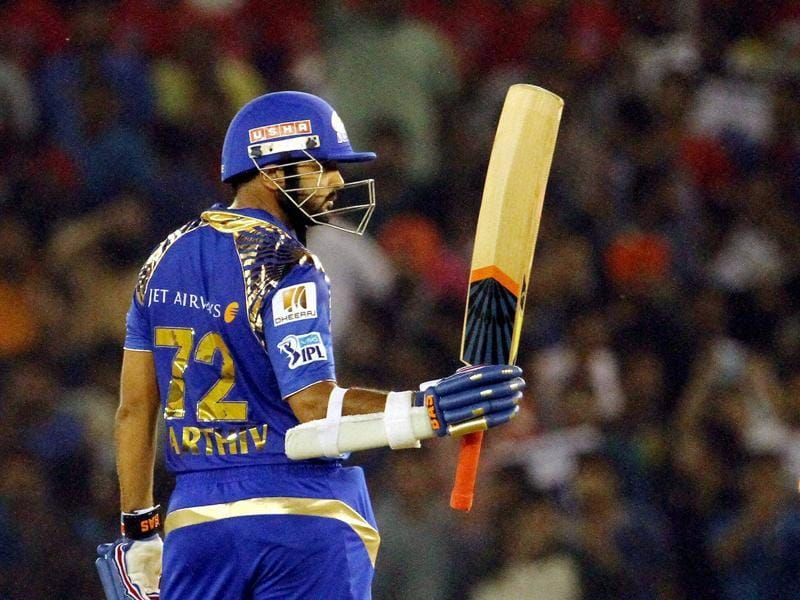 Parthiv Patel was named man of the match for his 58-ball 81. (PTI)