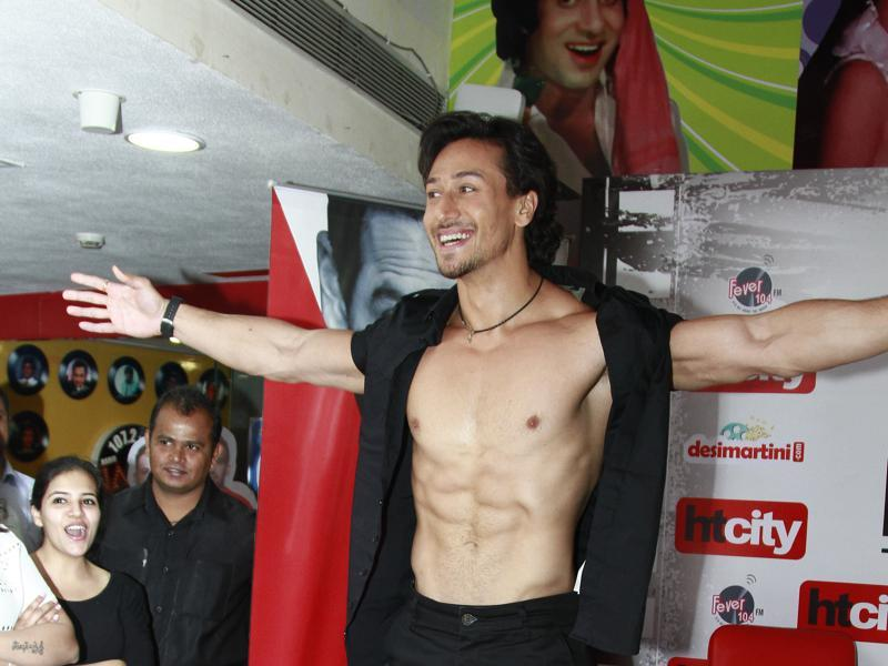 """I wanted a script that could tap into my full potential. I fell in love with the script of Baaghi,"" said Tiger. (Shivam Saxena/HT Photo)"