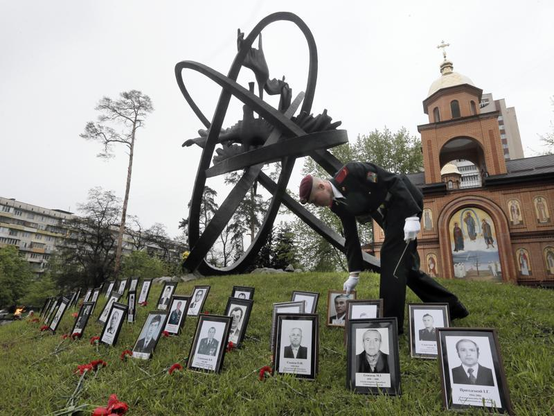 Ukraine marks the 30th anniversary of the Chernobyl nuclear disaster, which spread radiation over much of northern Europe. (AP Photo)