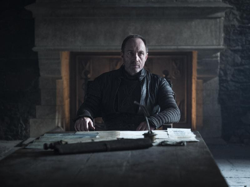 Roose Bolton, that means some more Ramsay.  (HBO)