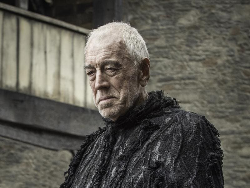 Of course, we last saw him meet with the Three-Eyed-Raven which will be played by the amazing Max von Sydow in the series.  (HBO)