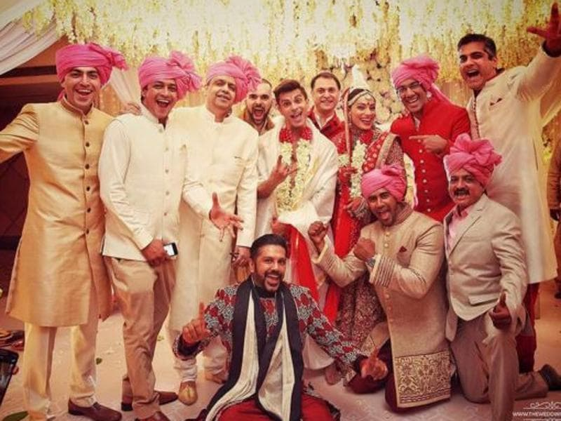 The couple tied the knot in a private ceremony, which was a mix of Punjabi and Bengali rituals at a suburban hotel in Mumbai. (Instagram)