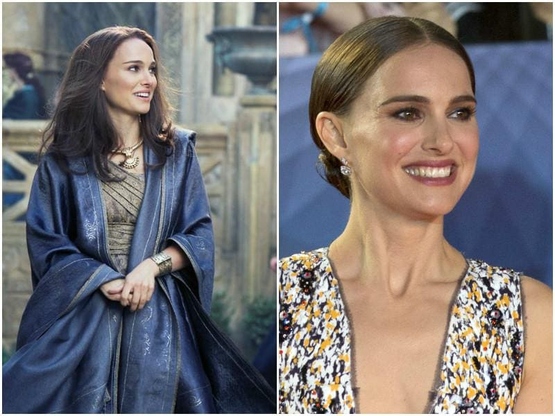 Natalie Portman played Thor's love interest and scientist Jane Foster in the two instalments. She will not be seen in any more Thor movies.