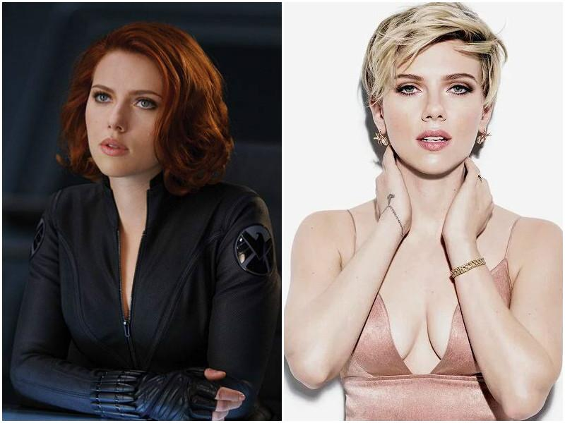 Scarlett Johansson played redhead heroine, Black Widow in Iron Man 2 and the audience loved her so much, she was again seen in Avengers, Captain America: Winter Soldier and Avengers: Age of Ultron.