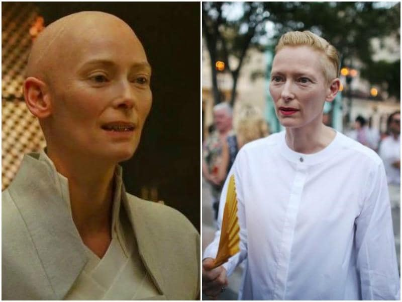 Tilda Swinton will play teacher to Benedict Cumberbatch as the Anciet One in Doctor Strange.
