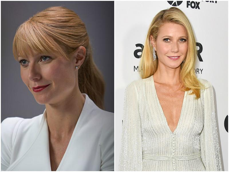 Gwyneth Paltrow played Tony Stark's love interest Pepper Potts in Iron Man, Iron Man 2 and Iron Man 3 with a cameo in Avengers.