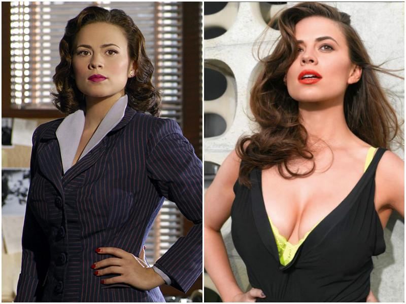 Hayley Baldwin played Peggy Carter in Captain America: The First Avenger and now has a full TV series, Agent Carter, to herself.