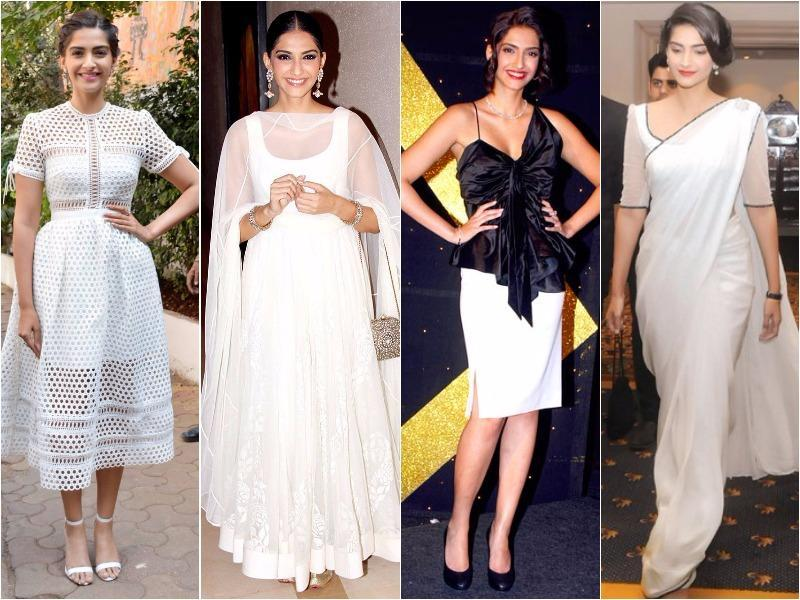 Because wearing white will always be in and because Sonam Kapoor is the queen of white, here's some outfit inspo inspired by the diva. Right here: How to wear white everywhere, plus the essentials your wardrobe needs. (Instagram)