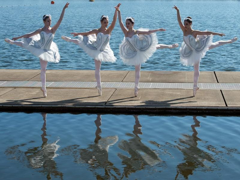 The Australian Ballet announced today it would hold perform on an open air stage in November 2016. (AFP)