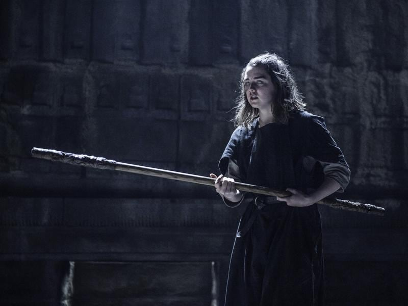 Arya finally got called back to the House of Black and White last week. Hopefully she will not get beaten by canes again. (HBO)