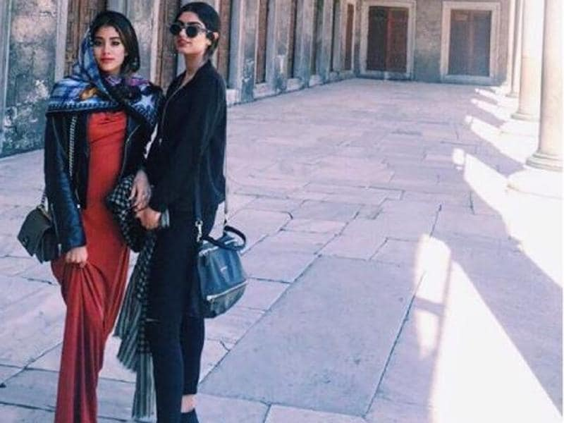 Sridevi's daughters are studying in London. (Instagram)