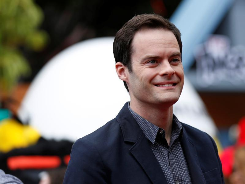 Cast member Bill Hader poses for the cameras. (REUTERS)